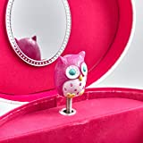 Joyero-Musical-Ovalado-Owls-Think-Pink