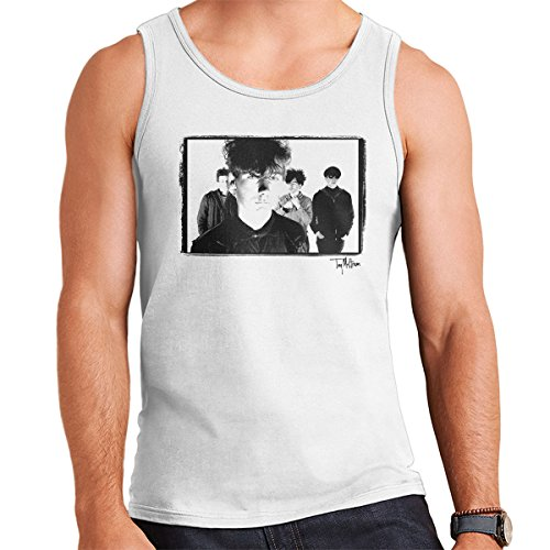 Tony Mottram Official Photography - Jesus And Mary Chain Band Shot Jim Reid Close Up Men's Vest