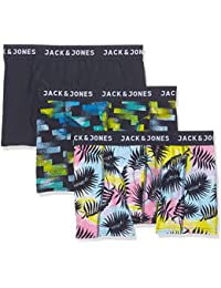 Jack & Jones Jaceasy Trunks 3 Pack, Boxer Homme