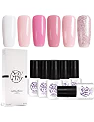 Sexy Mix UV Nagellack Gel Rosa Led Nageldesign Maniküre Gel Polish 6x7ml
