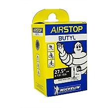 "Michelin Airstop Butyl - Camara de bicicleta 27.5 "" x 1.9 <--> 2.6, 60 mm, B4, 48/62 x 58.4"