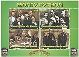 Monty-Python-TV-Serie alte Fotografien und Wiedervereinigung Block für Sammler - 4 Briefmarken / 2014 / Benin/MNH
