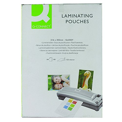 q-connect-kf04116-laminating-pouch-a4-125-micron-pack-of-100