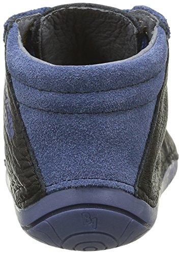 Babybotte Zeste, Chaussures Quatre Pattes (1-10 mois) Bébé Garçon Noir (070 Noir/Bleu)