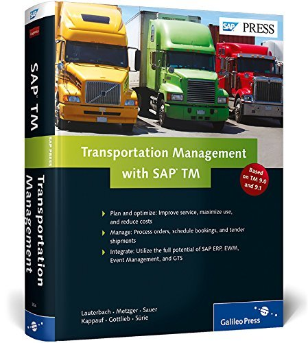 Transportation Management with SAP TM by J. Gottlieb (2014-01-31)