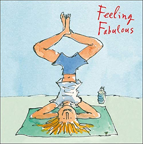 Feeling Fabulous Birthday Quentin Blake Greeting Card Square Greetings Cards