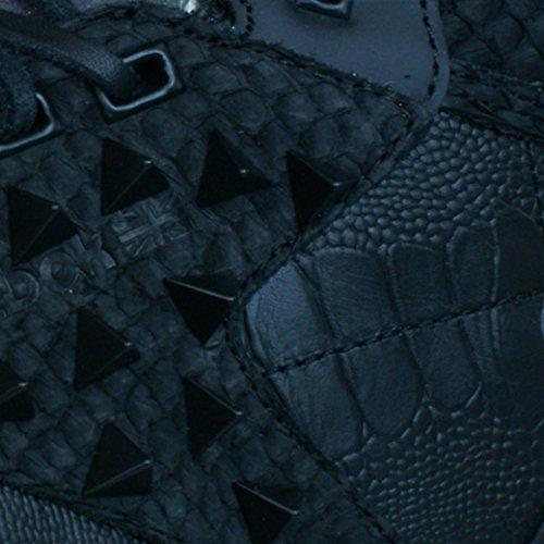 Reebok Classic Exo Fit Hi Clean PM Int Hommes cuir Baskets Noir