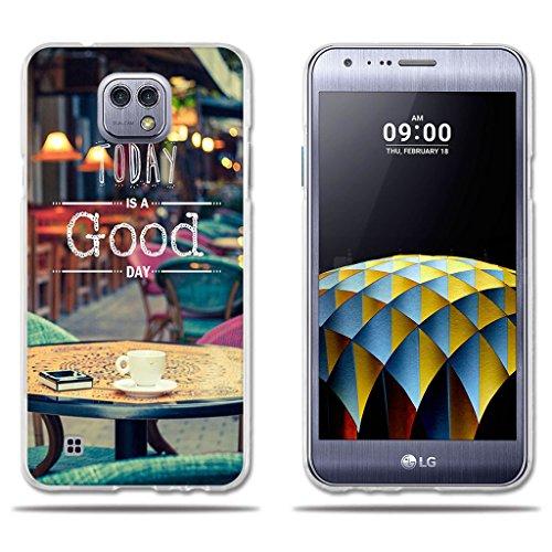 Ultra-moderne-couchtische (Fubaoda LG X Cam K580 Hülle, [Couchtisch] Transparent Silikon Clear TPU Slim Fit Shockproof Flexible Minimalist Ultra Thin Lightest Boy Geschenke Beschützer für LG X Cam K580)
