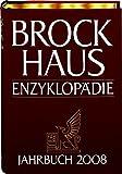 Brockhaus Enzyklopädie Jahrbuch 2008 (Halbleder-Einband)