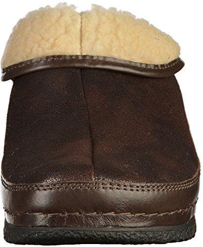 Berkemann Damen Remonda Pantoffeln Braun Dunkelbraun 491 - alexander ... f46c8b2a55