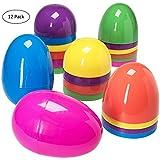 Huevos de Pascua de Surtidos Surtidos Jumbo 17,8 cm - Pack de 12 ud