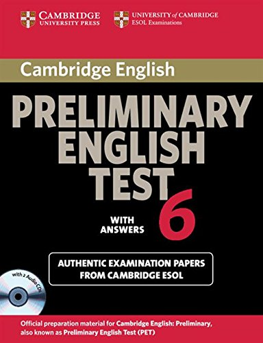 Cambridge preliminary english test. Self study pack. Per le Scuole superiori. Audiolibro. CD Audio: 6
