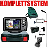 Humminbird Echolot GPS Portabel Profi Edition Plus Komplett Helix 5 Chirp GPS G2