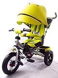 Y & Y TOY STORE ON LINE Little Tiger 4in 1Kinder-Dreirad mit drehbarem Sitz, mit verstellbarer Rückenlehne