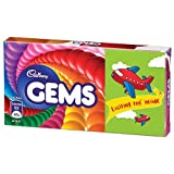 #5: Cadbury Chocolate - Gems 17.8g Carton