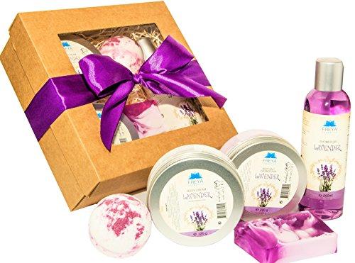 spa-gift-set-lavender-handmade-deluxe-relax-natural-ingredients-shower-gel-body-salt-cream-scrub-bod