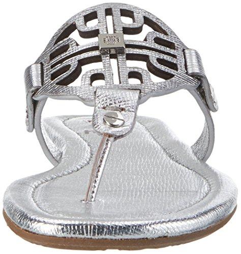 Högl Damen 3-10 0907 7600 Zehentrenner Silber (silber7600)