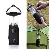 Inovey 6 Led Solaire Camping Randonnée Main Légère Tente Manivelle Lampe Usb Rechargeable Lanterne Portative