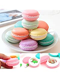 DESIGNEEZ Jewelry Organizer Storage Box Organizer Box Makeup Organizers Earphone SD Card Macarons Bag Storage...