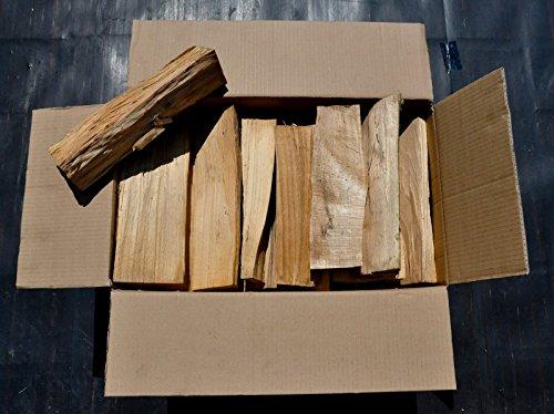 *60 kg Brennholz reine Buche kammergetrocknet und ofenfertig 30 -33 er Länge + Muster natürliches Anzündholz/Kienspäne*