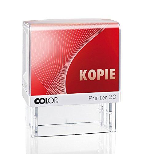 Colop 100671 Textstempel Printer 20/L mit Text kopie