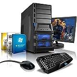 "Komplett-PC Gaming-PC Hexa-Core AMD FX-6300 6x3.5GHz (Turbo bis 4.1GHz), 22"" LED Bildschirm, Gaming Tastatur/Maus, Windows 7 Prof 64bit, GeForce GTX750 2GB DDR5, 1TB HDD, 8GB RAM, #4769"