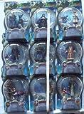 The Golden Compass 9 Figure Set - Tartar Soldier x2 (brothers) - Lyra Belacqua - Mrs Coulter - Serafina Pekkala - Lee Scoresby - Tony Costa - Lord Asriel - Lord John Faa