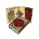 Fournier 1040828 Bicycle Vintage kaartspel voor verzamelaars, zwart en rood