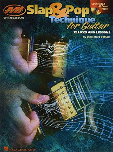 Slap & pop technique for guitar guitare+CD (Private Lessons)