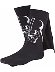 Star Wars Socken Darth Vader Größe 43-46 Caped Socks mit Umhang