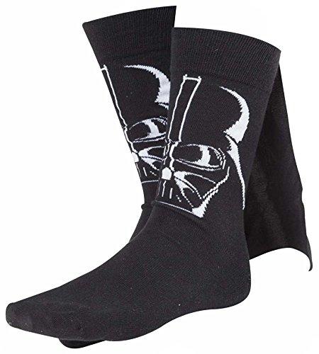 Calze di Darth Vader, Star Wars, numero 43-46, con mantello