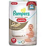 Pampers Premium Care Medium Size Diapers Pants (64 Count)