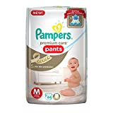 #3: Pampers Premium Care Medium Size Diaper Pants (64 Count)