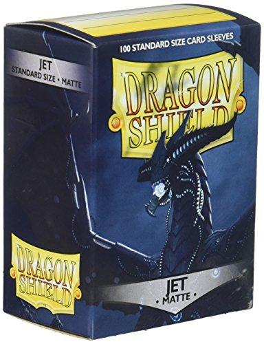 Arcane Tinmen ApS ART11024 - Dragon Shield Matte: Jet, 100 Stück -