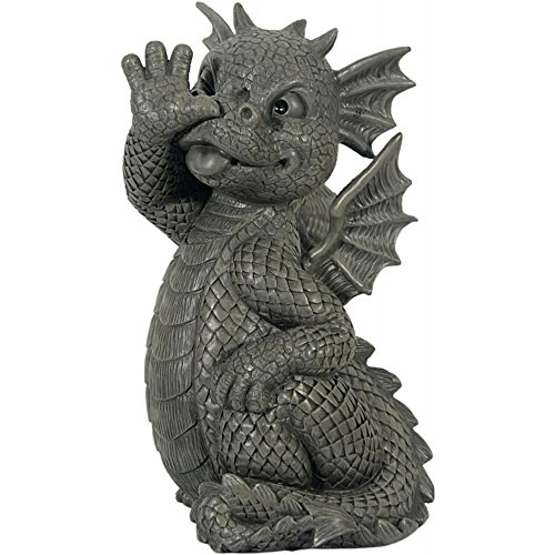 ars-bavaria-permet-a-long-nez-dragon-figurine-pour-decoration-de-jardin