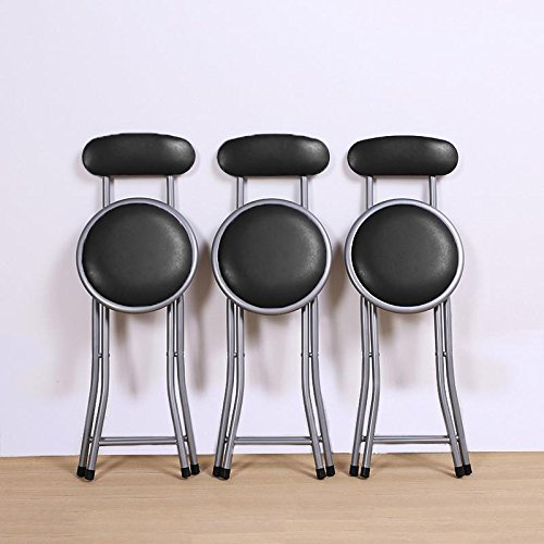 chinkyboo-black-round-padded-folding-chair-portable-foldable-bar-stool-with-backs-kitchen-home-furni