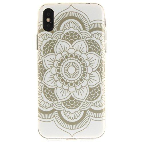 "Hülle für Apple iPhone X , IJIA Verrückt (DON'T TOUCH MY PHONE) TPU Weich Silikon Stoßkasten Cover Handyhülle Schutzhülle Bumper Handytasche Schale Case Tasche für Apple iPhone X (5.8"") S1"