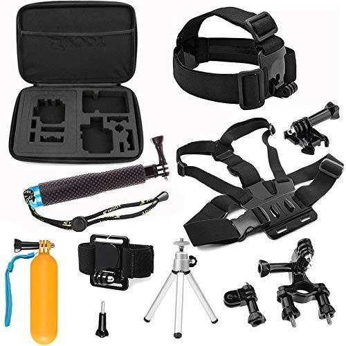 SHOOT 8in1 Accessories Kit for GoPro Hero 6 Hero5 Gopro 4 3 2 1 GoPro Hero Session SJCAM SJ4000 SJ5000 SJ6000 AKASO EK7000 Apeman A70 APEMAN A80 Xiaomi Yi WiMiUS Sony Sports Camera