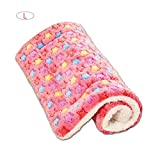 LiféUP Pet Mat Cat Pet Kennel Mat Dog House Mat for Big Medium Small Dogs Cama Colchoneta Perro ojines para Mascotas Antideslizante Vellón Almohadilla Suave