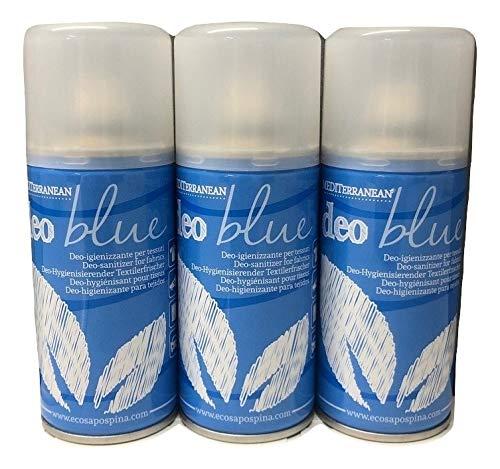 Rampi Deodorante Spray salvatessuti mangiaodori Deo Blu Igientex i Grandi Classici Laundry Home Professional igienizzante Interni (per Tessuti, Tende, Scarpe, Auto ECC.) 150 m