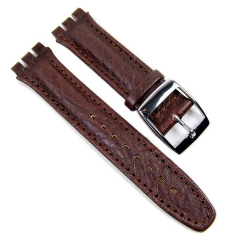 morellato-sheraton-fittizio-watch-band-replacement-band-eco-leather-dark-brown-19mm-for-swatch
