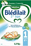 Blédina - Blédilait 1er Âge - Bag In Box 1,2 kg - Pack de 3
