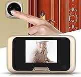 3,2 Zoll LCD Peephole Viewer Tür Sicherheit Magic Eye Türklingel Digital 4 IR LED Kamera Mit Nachtversion Türklingel