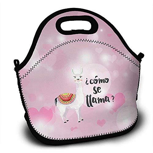 Wandern Rucksackreisen,Como Se Llama Lunch Bag Tote Lunchbox With Handle Strap