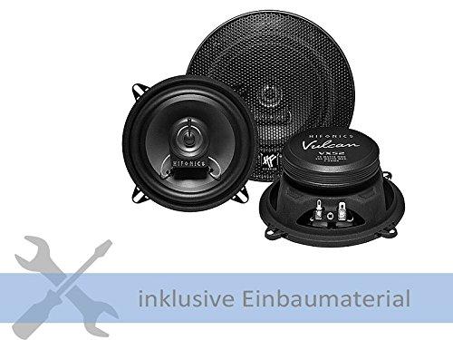 Hifonics Auto Lautsprecher 300 Watt Nachrüstung für Ihren Audi A3 8L 08/96 - 04/03 Türen vorne