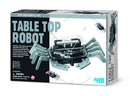 Fantastic Gift Ideals ideal für Kinder über dem Jahre 8+ 4M Baue deinen eigenen Tischplatte Roboter - Krabbe