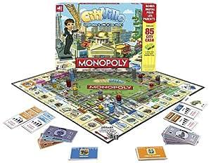 Hasbro - A20521010 - Jeu de Plateau - Cityville Monopoly