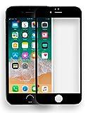 MyGadget Protection Verre Trempé Mat pour Apple iPhone 7 Film protecteur Sans reflets écran Dureté 9H Vitre Anti rayures & bubble free - Noir