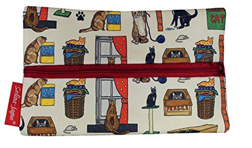 Selina-Jayne Curious Cats Limitierte Auflage Designer Federmäppchen -