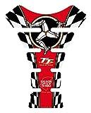Motorrad Motografix Tankpad Isle of Man TT rot